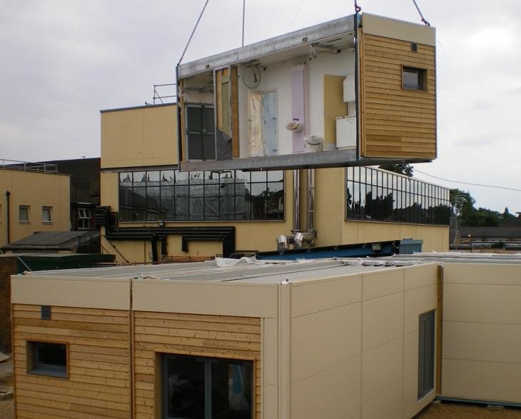 Быстро возводимые модульные и деревянные здания